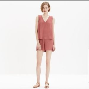 Madewell Romper with Pockets